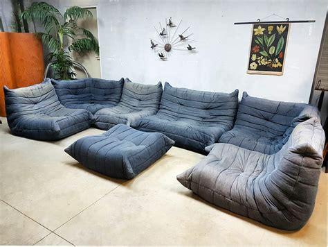 togo ligne roset vintage design lounge bank sofa xxl
