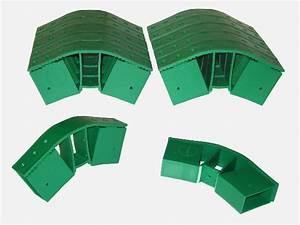 Vario Fix  Quick Steckverbinder für Gewächshaus Pavillion Zelt 12er Set (grün), Gekaho