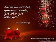 bible verse christmas card messages