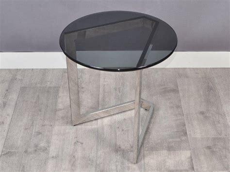 bout de canapé noir bout de canapé noir bout de canapé noir plateau en verre