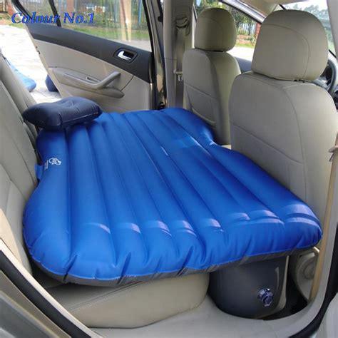 siege auto gonflable siège d 39 auto couverture arrière de voiture air matelas
