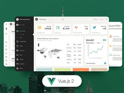 components in different templates vue js 14 vue js admin dashboard templates for free download and