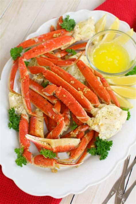 how to make snow crab legs oven baked snow crab legs delightful e made