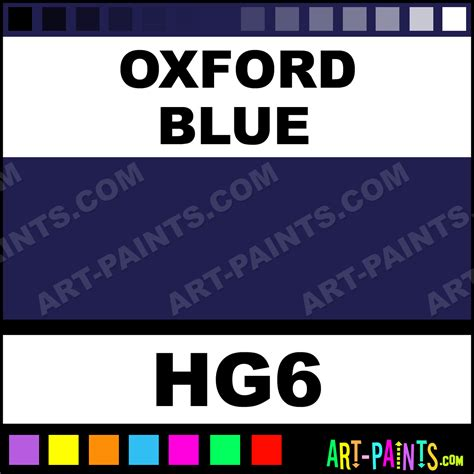 oxford blue gloss metal paints and metallic paints hg6