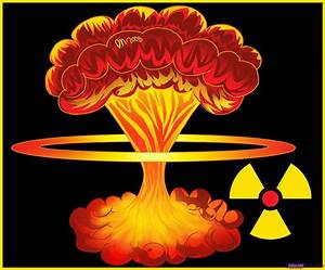 Nuclear Explosion clipart mushroom cloud - Pencil and in ...