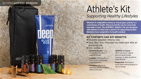kits  collections doterra essential oils