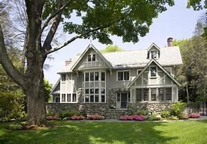 Eclectic Modern Tudor Exterior - Traditional - Exterior