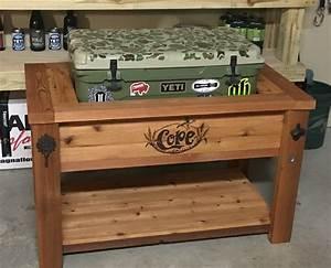 Diy Patio Cooler Grill Cart108 Bbq Cart 100 Wood Patio