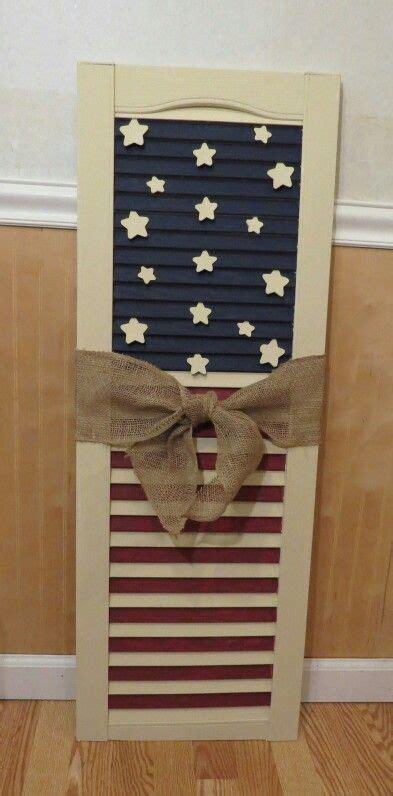 americana flag shutter americana crafts flag crafts