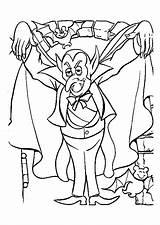 Vampire Coloring Vampires Pages Halloween Printable Coloriage Dessin Dracula Mask Colorier Le Simple Dessins Des Un Justcolor Enregistree Depuis Hugolescargot sketch template