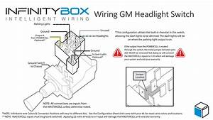Universal Headlamp Switch Wiring Diagram