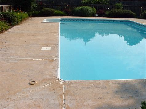 pool deck resurfacing options why concrete resurfacing makes sense for your pool deck