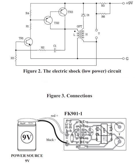 electric shock kit fk901 qkits electronics store kingston