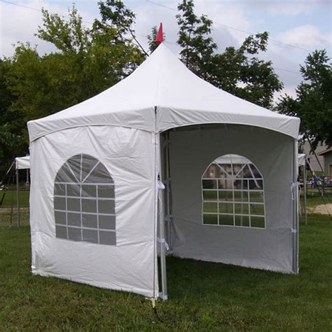 10x10 canopy with walls 10 x 10 series high peak frame tent