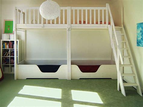 Hochbett Mit Unterbett by Bild 56 Hochbett Mit Unterbett Doppelbett Sleeping