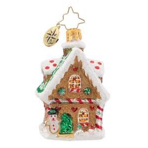 christopher radko ornaments 2016 radko sweet ginger cottage gem ornament 1018166