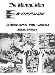 Evinrude 18 Hp Fastwin 1820 Series Workshop Manual
