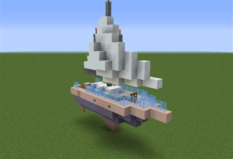 Sailboat   GrabCraft   Your number one source for MineCraft buildings, blueprints, tips, ideas