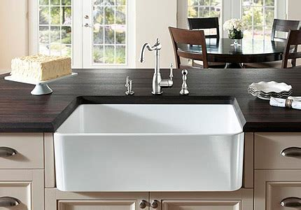 barn style sink stylish kitchen fixtures from blanco themodernsybarite