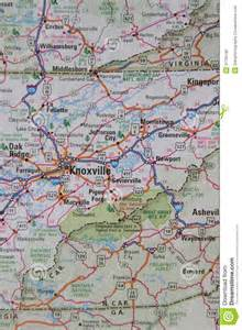 East West North Carolina Tennessee Map