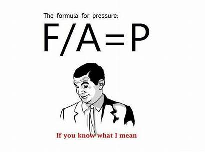 Aha Mean Know Meme Pressure Formula Random