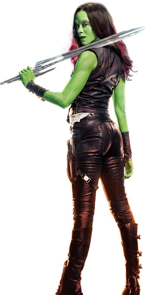 Guardians Of The Galaxy Hd Wallpaper Vol 2 Gamora 1 Png By Captain Kingsman16 On Deviantart