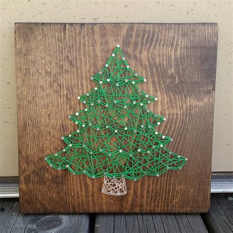 image result for christmas tree string art cool products