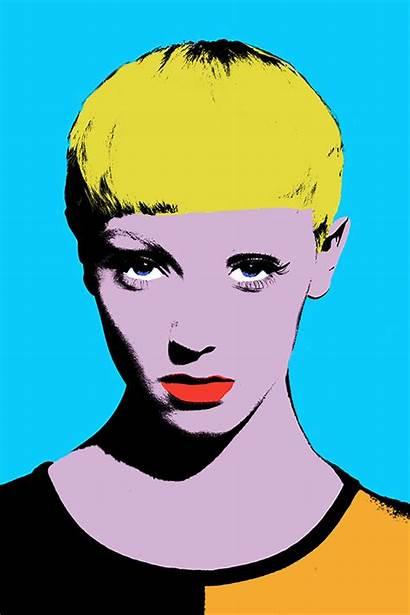 Warhol Andy Pop Portraits 1960s Effect Marilyn