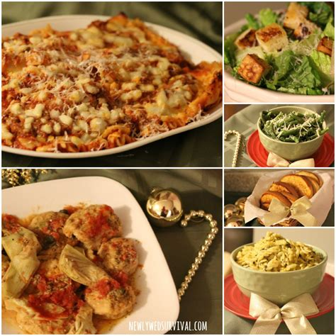 Easy Italian Dinner Party Menu Ideas Featuring Michael