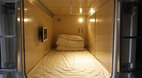 chambre froides où dormir au japon les hôtels capsules