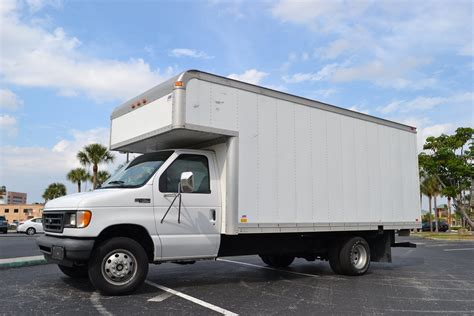 ford powerstroke diesel   sale box truck
