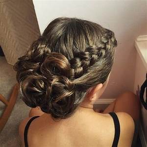 Prom Updos For Long Hair With Braids | Hair