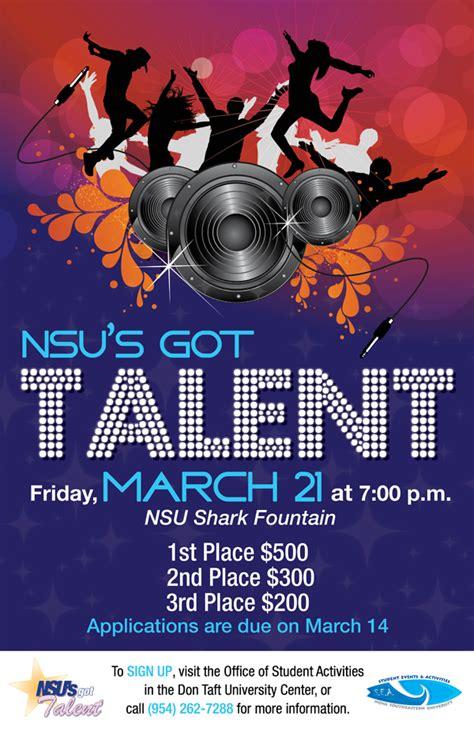 nsus  talent march  nsu newsroom