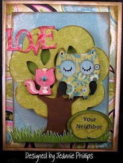 love thy neighbor    card   cards