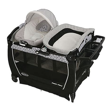 graco pack and play mattress graco 174 pack n play 174 playard snuggle suite lx in sutton