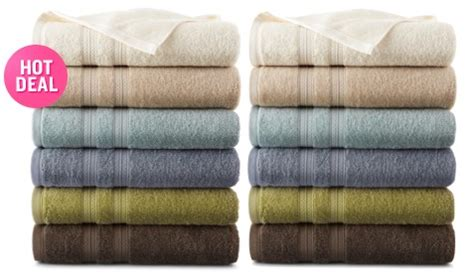 jcpenney solid bath towels   reg