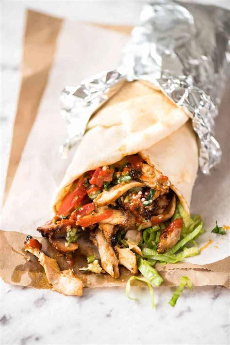 Kebab Recipe by Chicken Doner Kebab Recipe Recipetin Eats