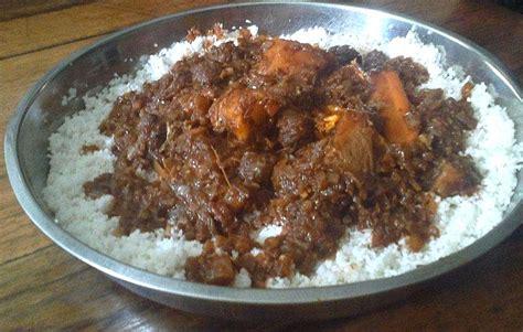 recette cuisine senegalaise recette du thiou viande ou poisson