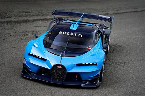 Bugatti Vision Gran Turismo Concept Is More Than A Virtual