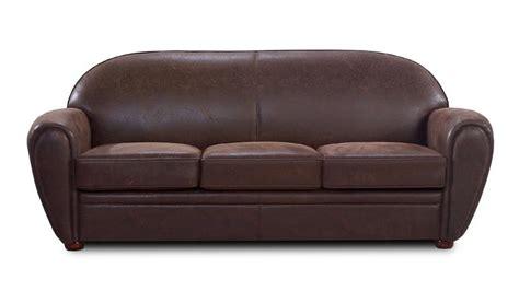 canapé cuir 3 places canap 233 club en tissu imitation cuir 3 places ultra confort vintage jazzy mobilier moss