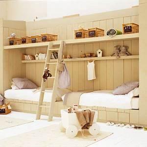 Lit Enfant Double : fabriquer un lit pour enfant marie claire ~ Teatrodelosmanantiales.com Idées de Décoration