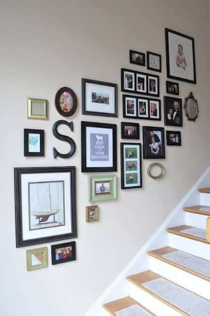 Here's a clever wall hook with a lot of character! 12 Alternative Decor Ideas To Hang On A Gallery Wall ...