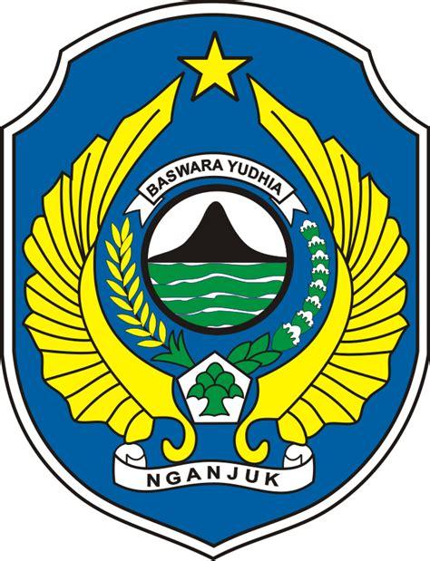 logo kabupaten nganjuk kumpulan logo lambang indonesia