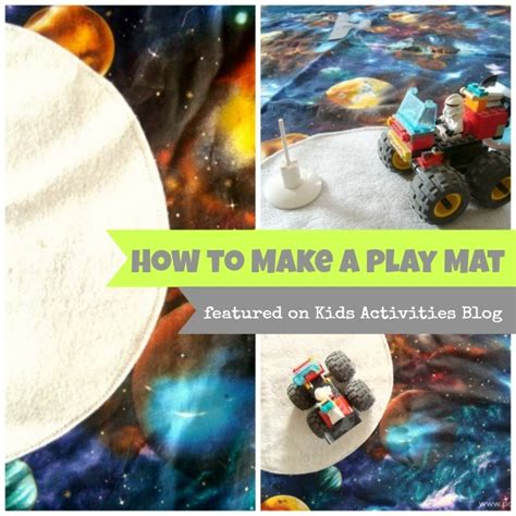 how to mat a print how to make a custom play mat activities