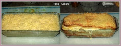 cake de de mie jambon et fromage a raclette pique assiette