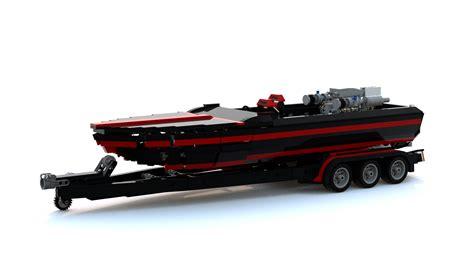 Lego Boat Racer by Lego Ideas Turbo Ski Race Boat