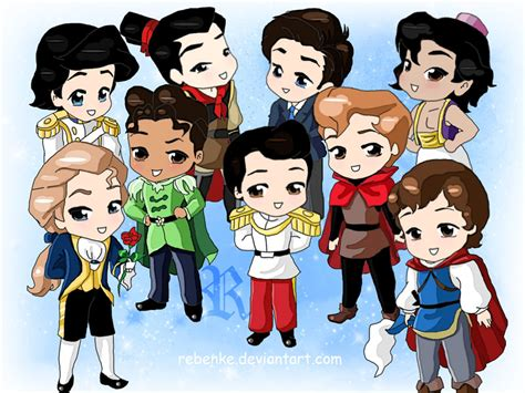 Chibi Disney Prince Charming