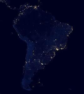 NASA USA at Night - Pics about space
