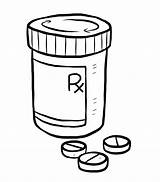 Pill Bottle Drawing Medication Prednisone Medicine Medical Non Coloring Sketch Goes Getdrawings Switching Happy sketch template