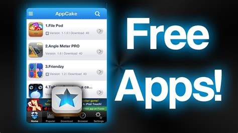 how to get free apps on iphone how to get any app for free app cake how to install
